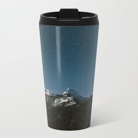Annapurna Himalayas Metal Travel Mug