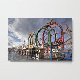 Hyde Park Coaster Metal Print