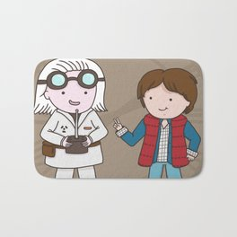 Yay, it's Back to the Future Day! Bath Mat