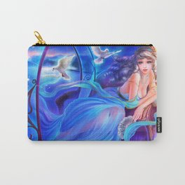 Sleepless Nights-Cinderella Carry-All Pouch