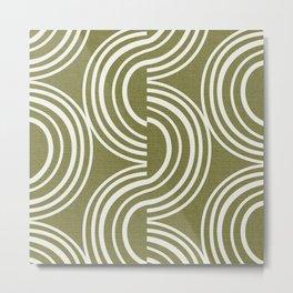 Wander - Olive Metal Print