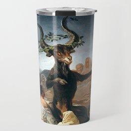 THE SABATH OF THE WITCHES - GOYA Travel Mug