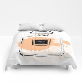 Orange perfume #3 Comforters
