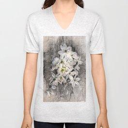 Allium Greys Unisex V-Neck