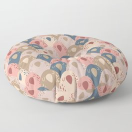 Ovopornis - beige Floor Pillow