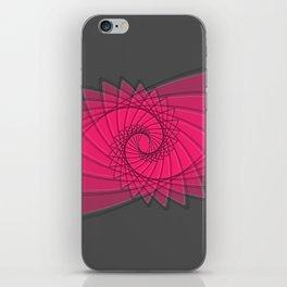 hypnotized - fluid geometrical eye shape iPhone Skin