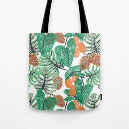 Jungle Print Tote Bag