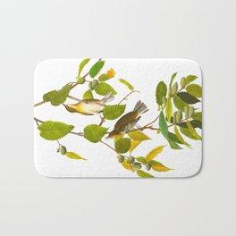 Autumnal Warbler Bird Bath Mat