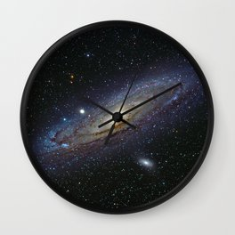 The Andromeda Galaxy Wall Clock