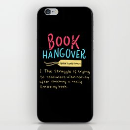 Book Hangover iPhone Skin