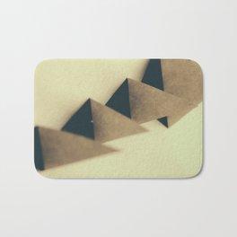 Pyramidal Tract Bath Mat