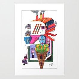 Home yet Art Print