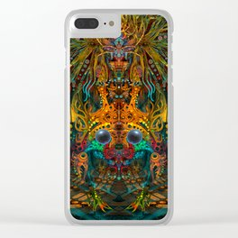 Lemuria Clear iPhone Case