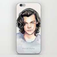 coconutwishes iPhone & iPod Skins featuring Harry Watercolors II by Coconut Wishes