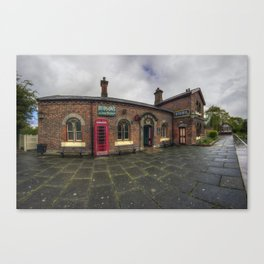 Hadlow Road Railway Station Canvas Print