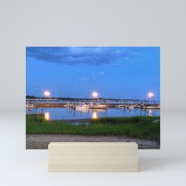 Evening on Long Island Sound Mini Art Print