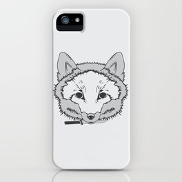 Pirate Fox iPhone Case