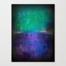 Untitled purple and green Canvas Print