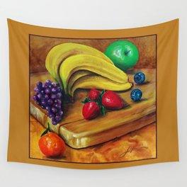 Still life #6 Mixed fruit  Wall Tapestry