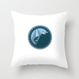 Screw It I'm Hiking - Funny Hiking Quote Throw Pillow
