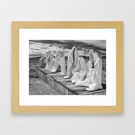 Ghosts of the Desert Framed Art Print