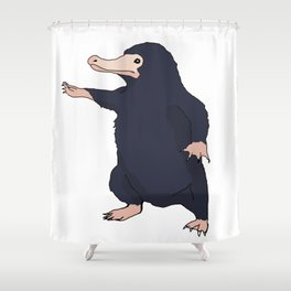 Niffler Pose Shower Curtain