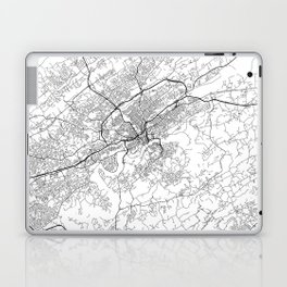 Minimal City Maps - Map Of Knoxville, Tennessee, United States Laptop & iPad Skin