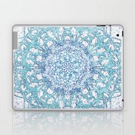 Aqua Lace Mandala Laptop & iPad Skin