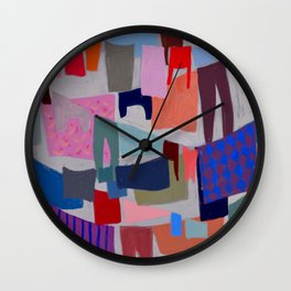 drying clothes Wall Clock