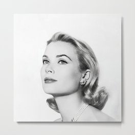 Grace Kelly Metal Print