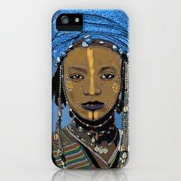 Ndeley Portrait iPhone Case