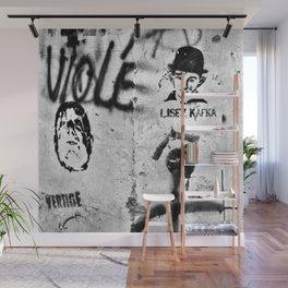 LISEZ KAFKA in PARIS Wall Mural