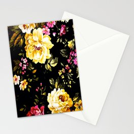 ROSES WHITE AND PINK FLOWERS Stationery Cards