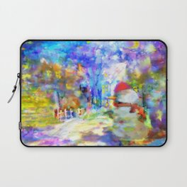 Be Happy in New 2016 Year ! Laptop Sleeve