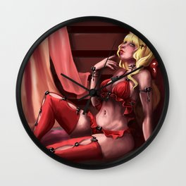 Sexy girl Wall Clock