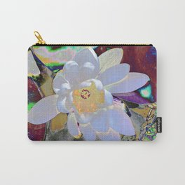 WATER LILLY WHITE Carry-All Pouch