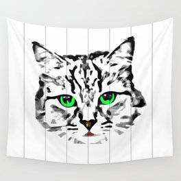 Cat in the window Wall Tapestry
