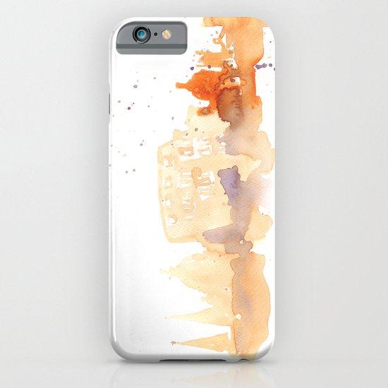 Watercolor landscape illustration_Rome - Colosseum iPhone & iPod Case