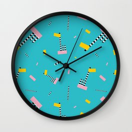 Memphis Milano Oceanic Lamp Party Wall Clock