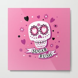 Sugar Rush Metal Print