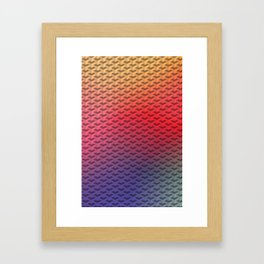 Y So Bright Framed Art Print