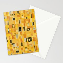Klimt Pattern Stationery Cards