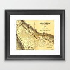 Upper Geyser Basin Framed Art Print