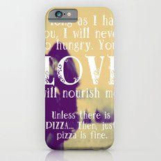 Love & Pizza Slim Case iPhone 6s