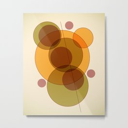 Orbit B Metal Print