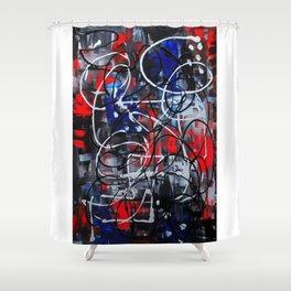 Anti-Flag Shower Curtain