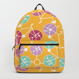 Colorful bikes Backpack
