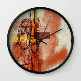 Too Hot for Pants Wall Clock