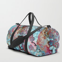 Colorful abstract marble II Duffle Bag
