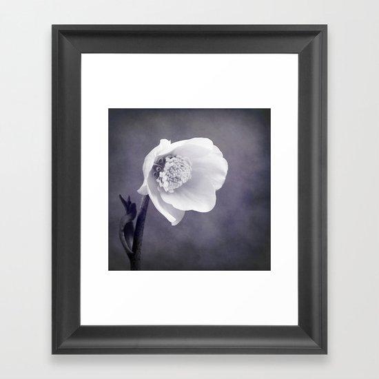 silent Framed Art Print